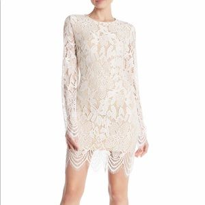 🆕 Material Girl Scallop Mini Dress